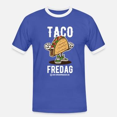 Taco Fredag T Shirts T skjorte for menn   Spreadshirt