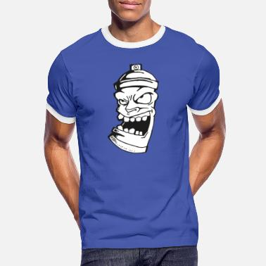 De Spray Crazy Sprayer - T-shirt contrasté Homme