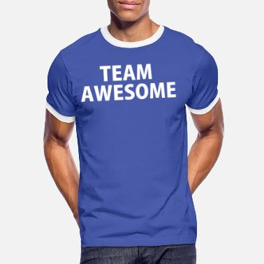 Team Awesome Team Awesome - Männer Ringer T-Shirt