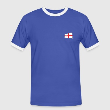 Saint George's Cross - Waving - Men's Ringer Shirt