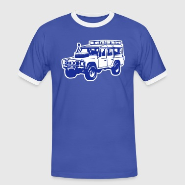 Land Rover Defender, Jeep, SUV - Men's Ringer Shirt