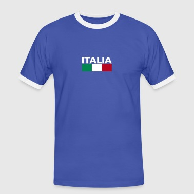 Italia Italy flag - Men's Ringer Shirt
