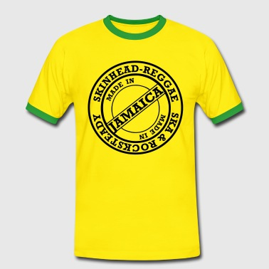 skinheadreggae made in jamaica - Men's Ringer Shirt