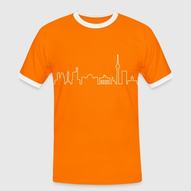 Skyline of Berlin - T-shirt contrasté Homme