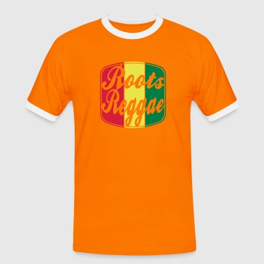 roots reggae - Men's Ringer Shirt