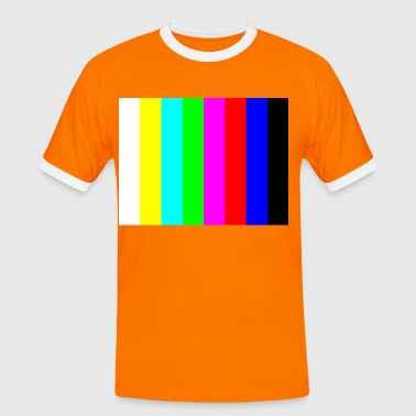 Colour Bar Colour bars - Men's Ringer Shirt