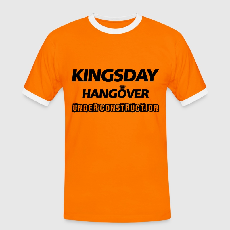 Kingsday Hangover (under construction) - Mannen contrastshirt