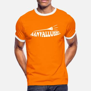 Dutch Hockey aanvalluh iii / aanvallen / holland - Men's Ringer Shirt