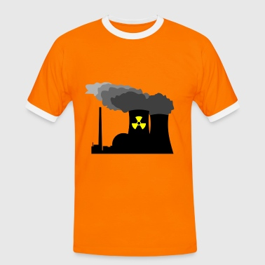 Nuclear Power - Männer Kontrast-T-Shirt