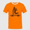 Holland Orange Legion Lion euro football World Championship jersey - Camiseta contraste hombre