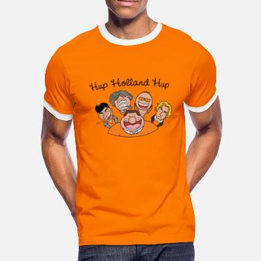 Hup Holland Hup Hup Holland Hup - Mannen contrastshirt