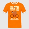Sloth Cycling Team - Men's Ringer Shirt