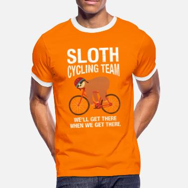 Sloths Sloth Cycling Team - Men's Ringer Shirt