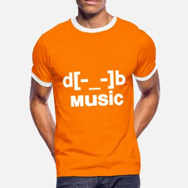 D B d[music]b - Men's Ringer Shirt