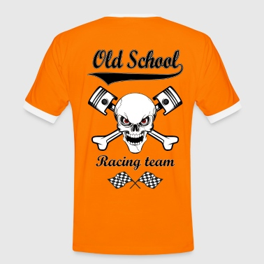 Old School Racing Team 02 - T-shirt contrasté Homme
