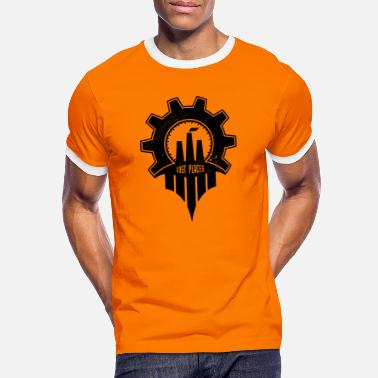 Lost Place Lost Places - Männer Ringer T-Shirt