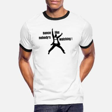Dance like nobody's watching - T-shirt contrasté Homme
