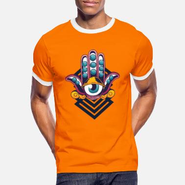 Third eye - abstract - Men's Ringer T-Shirt
