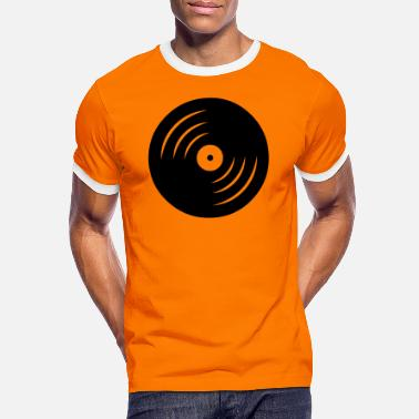 vinyl - Men's Ringer T-Shirt