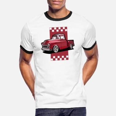 Pick-up-van Pick up van - Men's Ringer T-Shirt