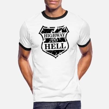 Highway To Hell Highway to Hell - Camiseta contraste hombre