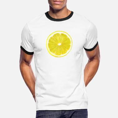 lemon slice - Men's Ringer T-Shirt