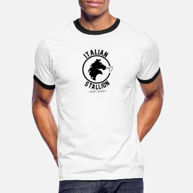 Stallion ITALIAN STALLION - Men's Ringer T-Shirt