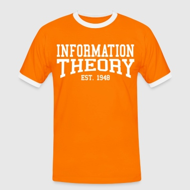 Information Theory - Est. 1948 (Over-Under) - Men's Ringer Shirt