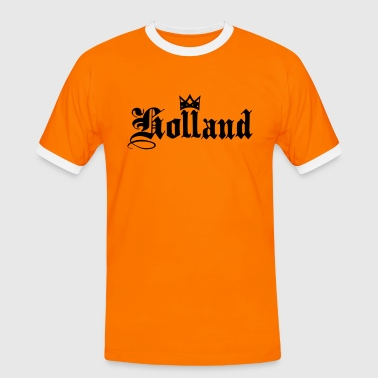 Holland with crown - Men's Ringer Shirt