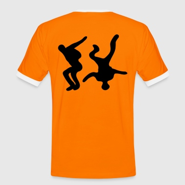 Freefly - Männer Kontrast-T-Shirt