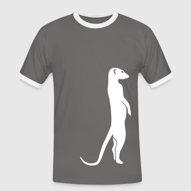 meerkat surikat moon - Men's Ringer Shirt