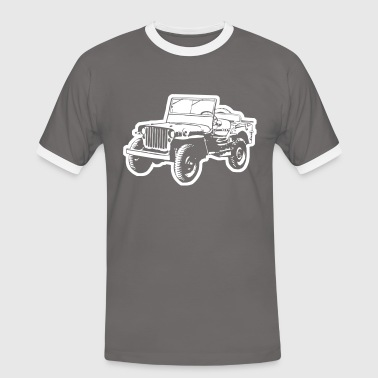 Willy Jeep - Men's Ringer Shirt