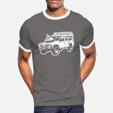 Land Rover Offroader (Differenzbild) - Männer Kontrast-T-Shirt