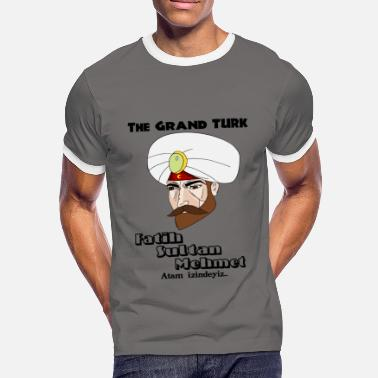 Erdogan The Grand TURK - Mannen contrastshirt