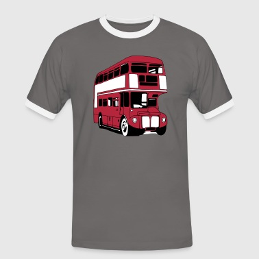 London-Bus (3 color) - Men's Ringer Shirt