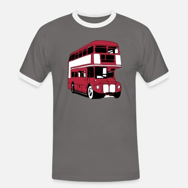London Bus London-Bus (3 color) - Men's Ringer Shirt