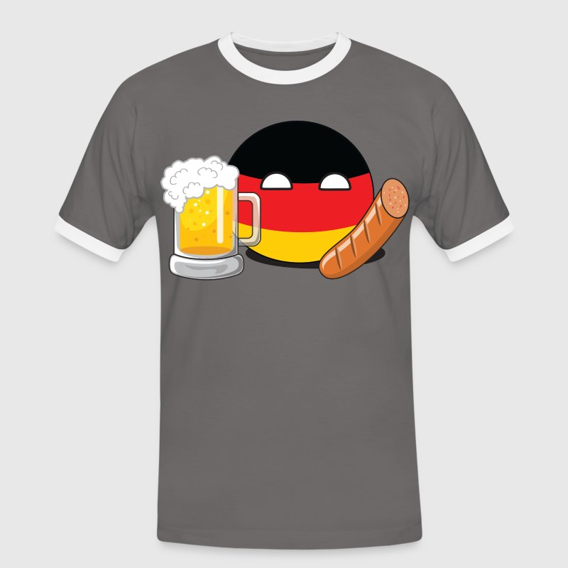 GermanyBall - Men's Ringer Shirt
