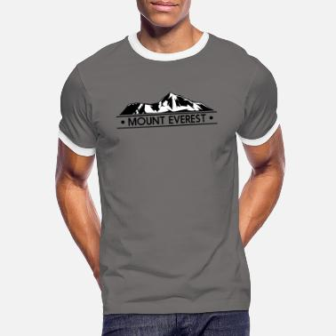 Everest mount everest - Männer Ringer T-Shirt