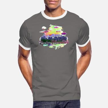 Rocky Mountains Rocky Mountains J - Men's Ringer T-Shirt