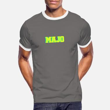 Majo MAJO - Men's Ringer T-Shirt
