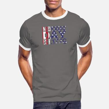 Independence Day Independence Day gift - Men's Ringer T-Shirt