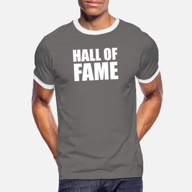 Hall Of Fame Hall of Fame Basketball Sport T-skjorte - Kontrast T-skjorte for menn