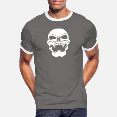 Pirate Pirate flag sneering - Men's Ringer T-Shirt