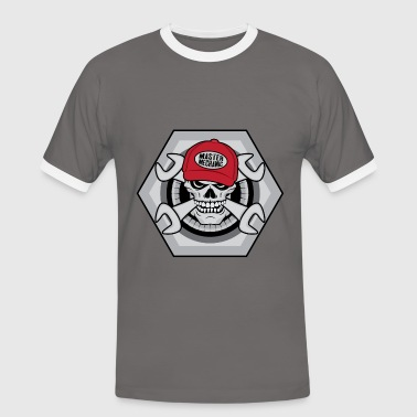 Mechanic Skull - Men's Ringer Shirt