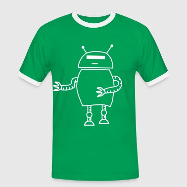robo dance solo klane - Men's Ringer Shirt