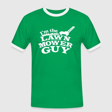 I'm the Lawn mower guy - Men's Ringer Shirt