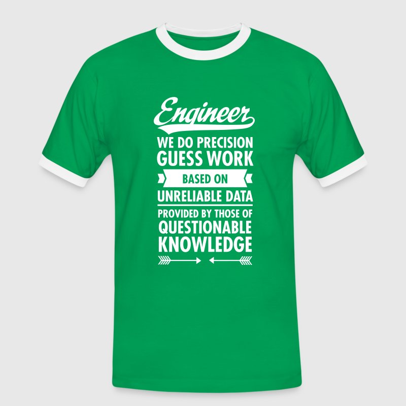 Engineer... - Mannen contrastshirt