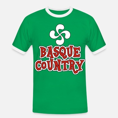 Basque Country basque country 02 - Men's Ringer Shirt