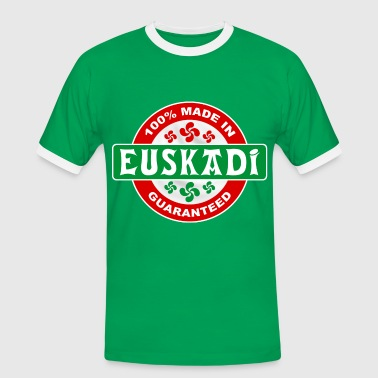 basque - euskadi guaranteed - Men's Ringer Shirt