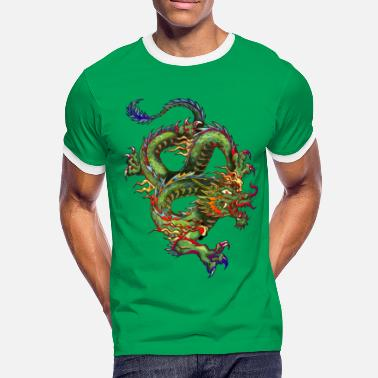 Dragon Chinois DRAGON BY cs - T-shirt contrasté Homme